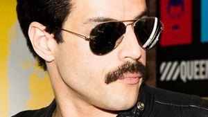 Queen divulga novas fotos de Bohemian Rhapsody, cinebiografia de Freddie Mercury estrelada por Rami Malek