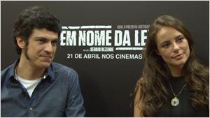 Exclusivo: Diretor Sérgio Rezende e elenco de Em Nome da Lei falam sobre justiça no Brasil atual