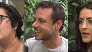 Exclusivo: A diretora Juliana Rojas e os atores Eduardo Gomes e Luciana Paes apresentam o divertido Sinfonia da Necrópole