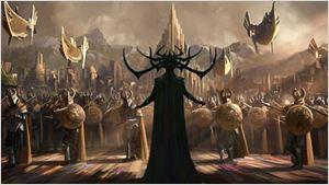 Marvel divulga primeira arte conceitual de Thor: Ragnarok
