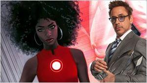 Robert Downey Jr. aprova que mulher negra assuma o traje do Homem de Ferro nos quadrinhos