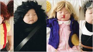 Fotógrafa faz sucesso no Instagram vestindo filha como personagens da cultura pop