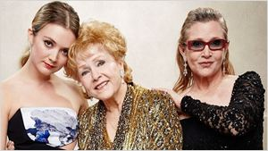 Billie Lourd publica tributo à mãe, Carrie Fisher, e à avó Debbie Reynolds