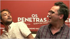 """Os Penetras 2 - Quem Dá Mais?: Eduardo Sterblitch e Danton Mello são """"dois malandros ruins"""" na sequência (Exclusivo)"""