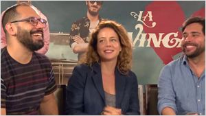"""""""Eles não conseguem pegar nenhuma mulher!"""": Leandra Leal e Fernando Fraiha falam sobre os homens da comédia La Vingança (Entrevista exclusiva)"""
