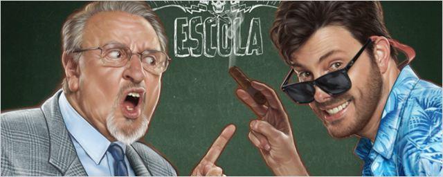'Quico' do Chaves e Danilo Gentili são os destaques do cartaz de Como se Tornar o Pior Aluno da Escola (Exclusivo)