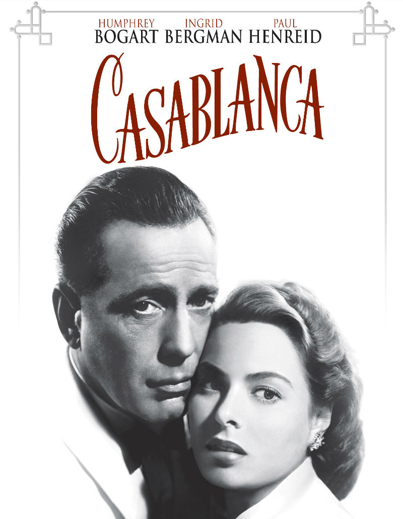 Casablanca filme 1942 adorocinema for Poster casablanca