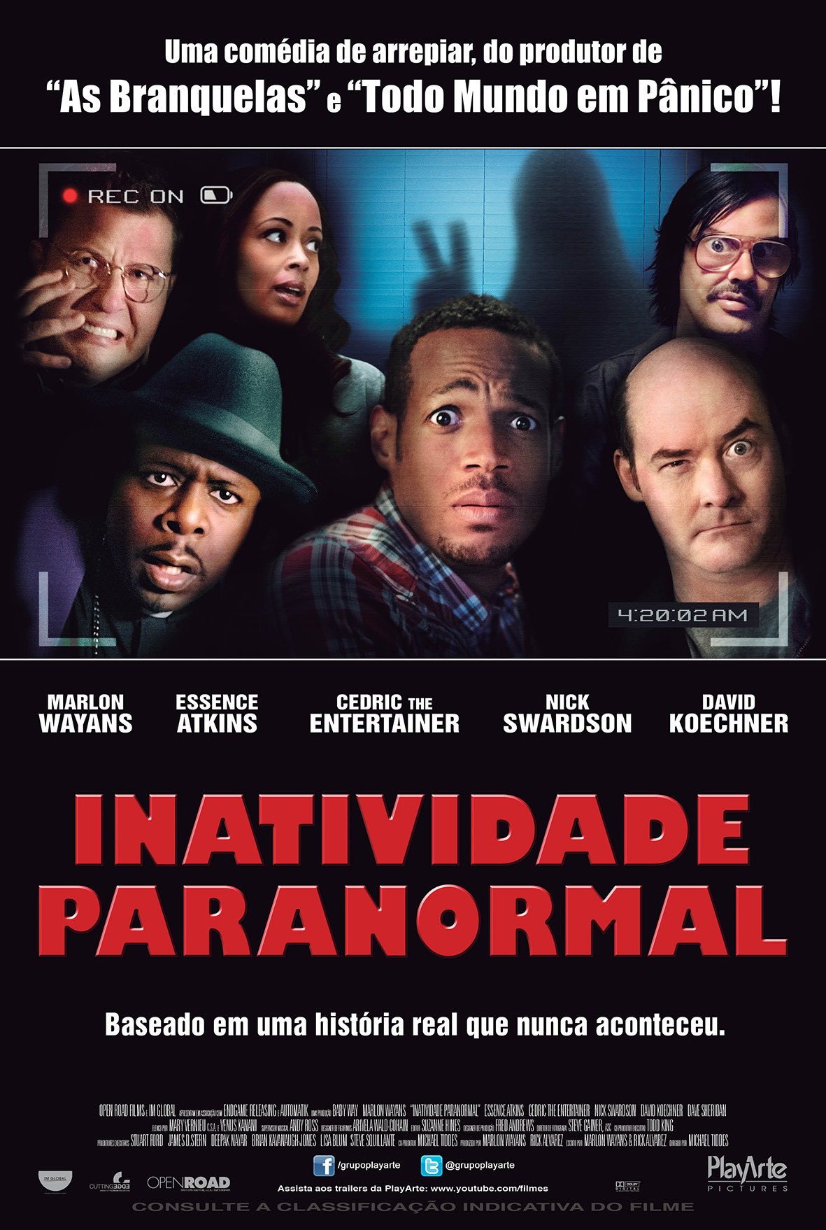 Baixar Filme Inatividade Paranormal BDRip XviD Dual Audio Dublado Torrent