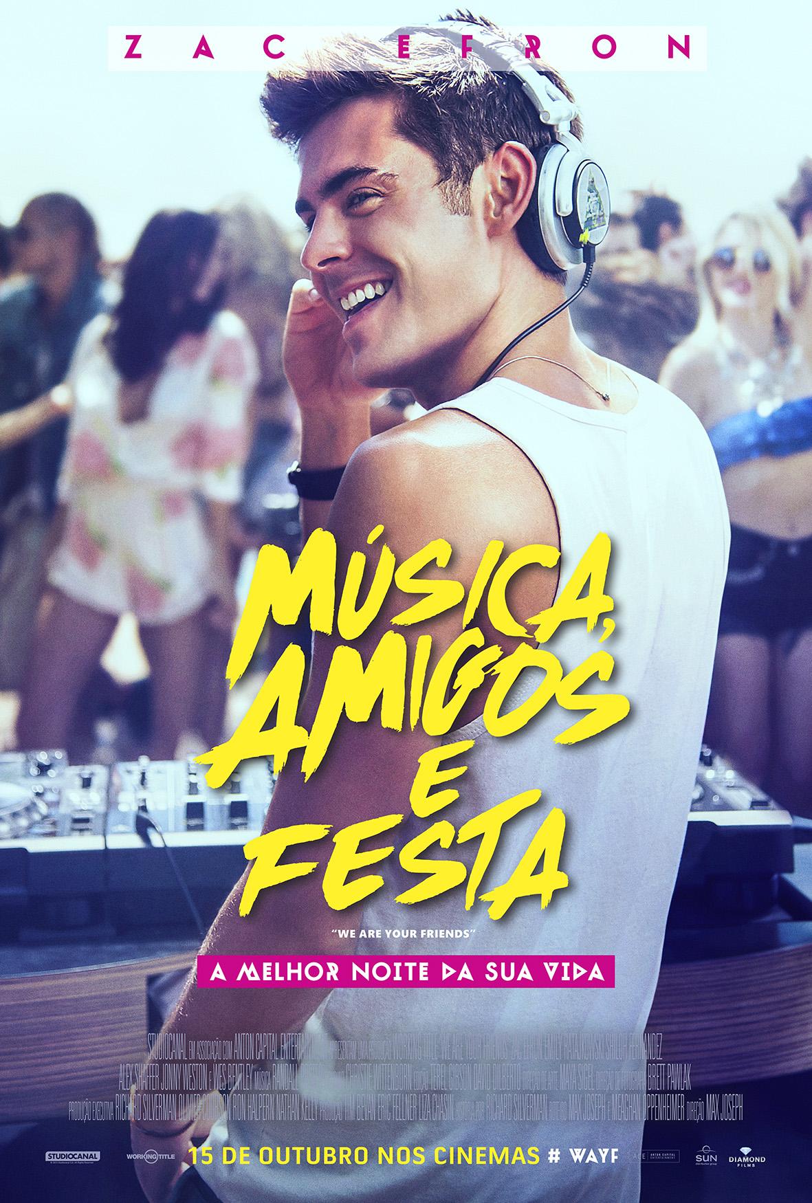Música, Amigos e Festa Dublado