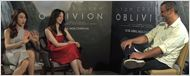 V&#237;deo exclusivo de Oblivion - Entrevista com Olga Kurylenko e Andrea Riseborough