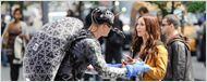 Megan Fox ao lado do mutante Raphael em novas fotos de Tartarugas Ninja