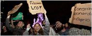 Achou que era brincadeira? Fãs foram às ruas para comemorar o Oscar de Leonardo DiCaprio