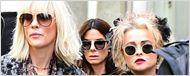 Helena Bonham Carter e Dakota Fanning são flagradas no set de filmagens de Ocean's Eight