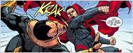 Henry Cavill antecipa confronto entre Superman e Adão Negro em foto com Dwayne Johnson