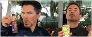 Robert Downey Jr. compartilha divertida foto de bastidores de Vingadores: Guerra Infinita