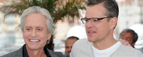 Cannes 2013: Matt Damon esbanja bom humor e Michael Douglas se emociona na coletiva de Behind the Candelabra