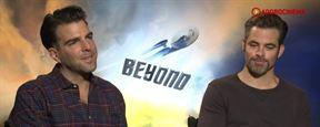 Star Trek Sem Fronteiras: Elenco fala sobre Simon Pegg como roteirista, Sulu gay, os diferentes estilos de J.J. e Justin Lin (Exclusivo)