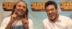 Exclusivo: Halder Gomes e Marcos Veras comentam as singularidades de O Shaolin do Sertão