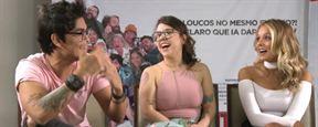 Internet – O Filme: Elenco fala sobre semelhança com seus personagens, Mr. Catra e perrengues da fama (Entrevista Exclusiva)