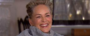 Sharon Stone cai na gargalhada ao ser perguntada se já sofreu assédio em Hollywood