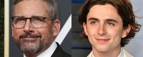 Steve Carell e Timothée Chalamet são pai e filho na primeira imagem de Beautiful Boy