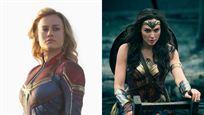Capitã Marvel supera Mulher-Maravilha nas bilheterias