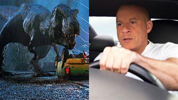 Velozes & Furiosos e Jurassic Park? Atriz da franquia de Vin Diesel comentou sobre a possibilidade de crossover