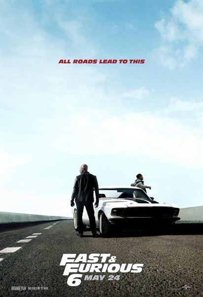 Poster (outros) - FILM - Fast & Furious 6 : 189651