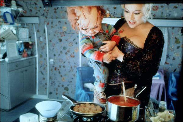A Noiva de Chucky : foto Jennifer Tilly, Ronny Yu