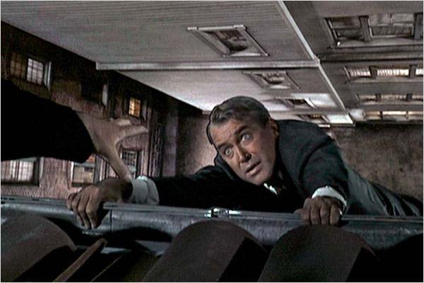 Um Corpo Que Cai : Foto Alfred Hitchcock, James Stewart