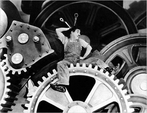 Tempos Modernos : Foto Charles Chaplin