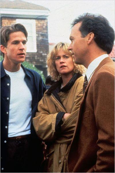 Morando com o Perigo : Foto John Schlesinger, Matthew Modine, Melanie Griffith, Michael Keaton
