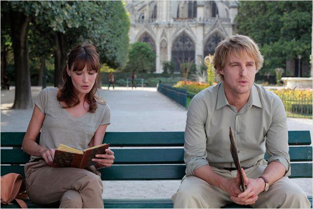 Meia Noite em Paris : Foto Carla Bruni, Owen Wilson, Woody Allen