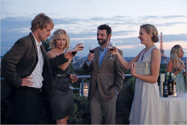 Meia Noite em Paris : Foto Michael Sheen, Nina Arianda, Owen Wilson, Rachel McAdams, Woody Allen