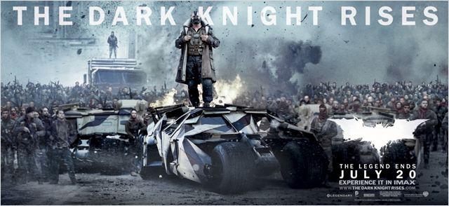 Batman - O Cavaleiro das Trevas Ressurge : poster Christopher Nolan, Tom Hardy