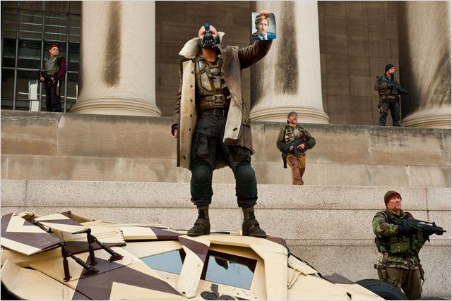 Batman - O Cavaleiro das Trevas Ressurge : foto Christopher Nolan, Tom Hardy