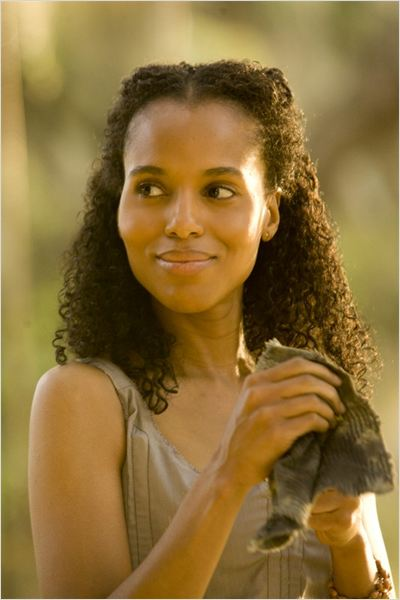 Django Livre : foto Kerry Washington
