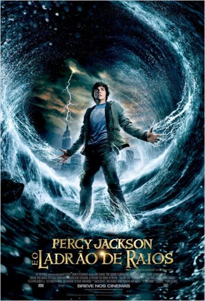 Percy Jackson e o Ladrão de Raios : poster