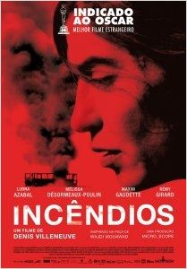 Incêndios : poster