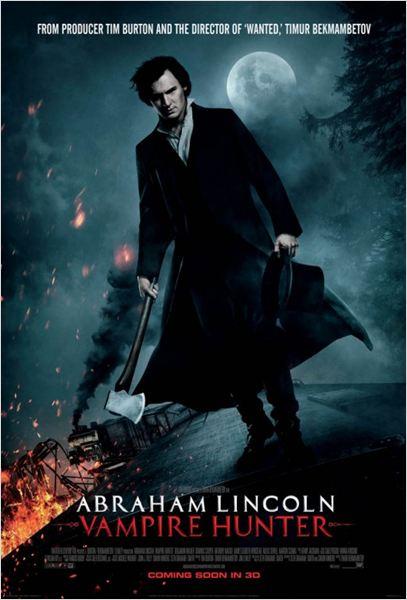 Abraham Lincoln: Caçador de Vampiros – Dublado e Legendado – 2012