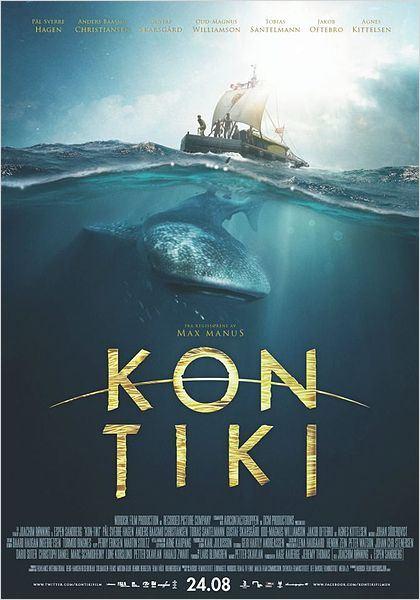 Expedição Kon Tiki : Poster