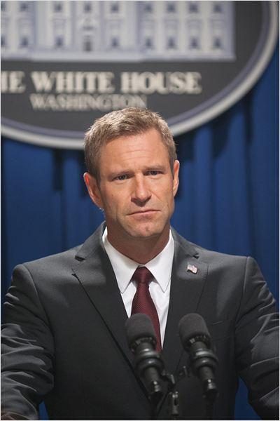 Invasão à Casa Branca : foto Aaron Eckhart