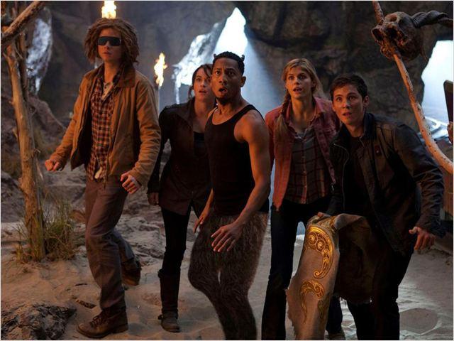 Percy Jackson e o Mar de Monstros : foto Alexandra Daddario, Brandon T. Jackson, Logan Lerman, Thor Freudenthal