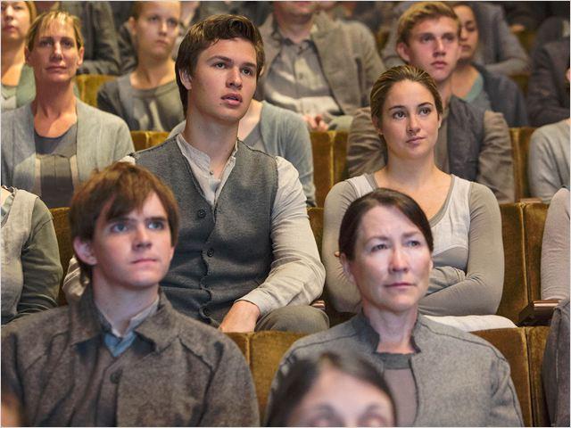 Divergente : Foto Ansel Elgort, Shailene Woodley