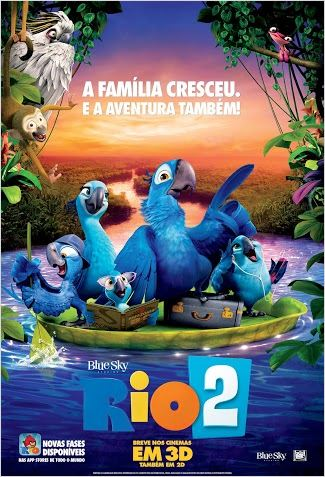 Rio 2 : Poster