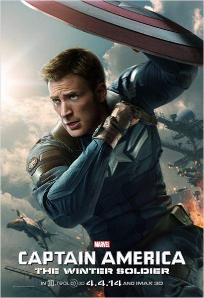 Capitão América 2 - O Soldado Invernal : Poster