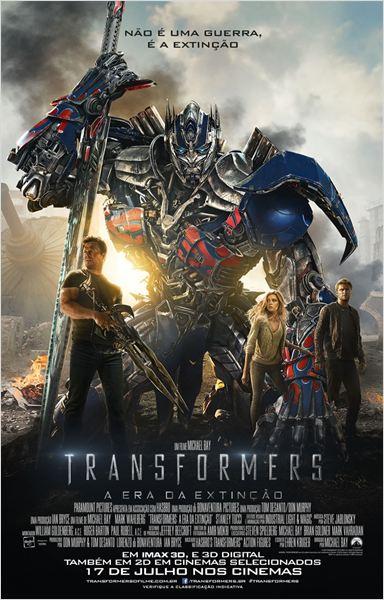 Transformers: A Era da Extinção : Poster