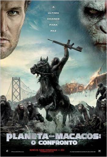 Planeta dos Macacos: O Confronto : Poster