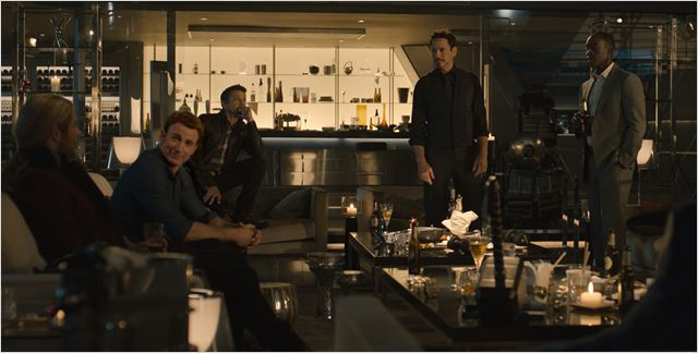 Os Vingadores 2: A Era de Ultron : Foto Chris Evans, Don Cheadle, Jeremy Renner, Robert Downey Jr.