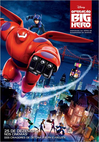 Operação Big Hero : Poster